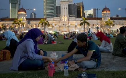 Multi-cultural: Merdeka Square in Kuala Lumpur. Photo: AP