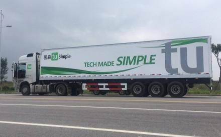 2018 tesla semi truck. wonderful truck chinese startup racing against tesla to test robot trucks inside 2018 tesla semi truck