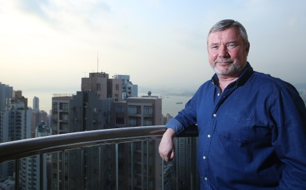 Veteran English professor Douglas Kerr. Photo: K.Y. Cheng