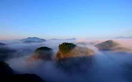 A still from a video produced by state broadcaster CCTV on China's national parks plan. Photo: Handout