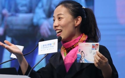 Wang Yaping was part of the Shenzhou 10 crew in 2013 which orbited the Earth. Photo: K. Y. Cheng