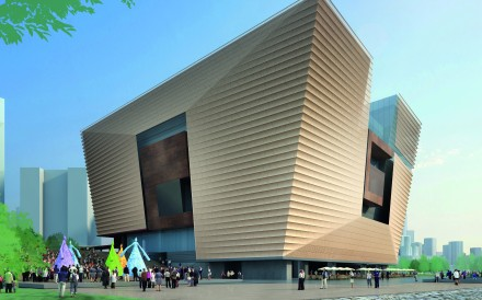 Some have likened the museum design to a ding, or ancient Chinese cauldron. Photo: Handout