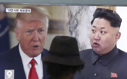 """US President Donald Trump urged US secretary of state Rex Tillerson, who was in China to discuss North Korea, to save his energy, adding that the US would """"do what has to be done"""". Photo: AP"""