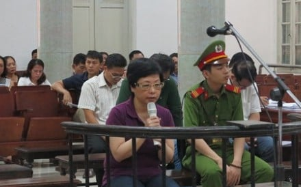 Chau Thi Thu Nga is the latest to be punished as part of a government anti-corruption sweep targeting current and former officials, bankers and executives in the communist state. Photo: VNExpress