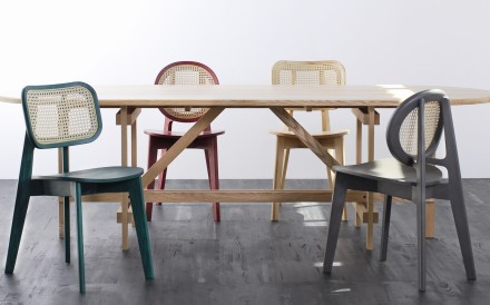 Cane chairs by Atelier 2+. Picture: Rodtham Theeranithi
