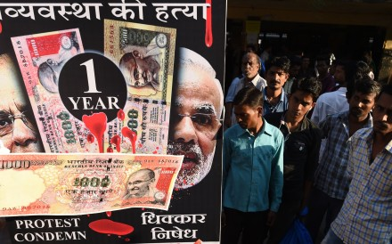 Indian prime minister had promised to rescue the economy, now the economy needs to rescue him