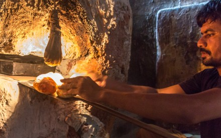 At the 100-year-old Fernandes Bakery in Verem, Goa, bread is baked in a traditional wood-fired oven. Photo: Rathina Sankari