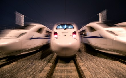 The Xian-Chengdu high-speed railway line will start operation on Wednesday. Photo: Xinhua