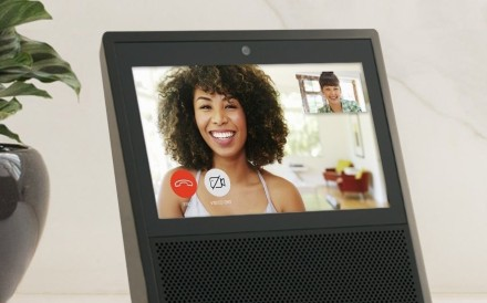 Amazon's Echo Show streaming device. Photo: Amazon