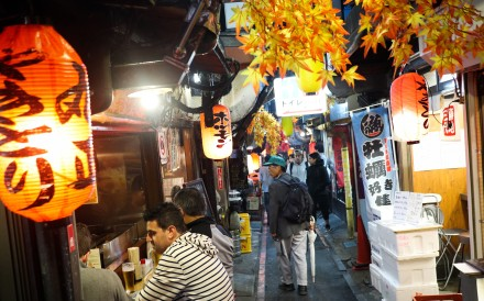 Shinjuku is one of the most popular night hot spots in Tokyo.