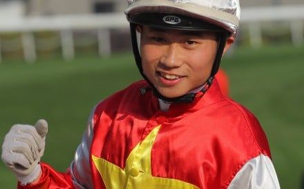 Dylan Mo after Wah May Star's win on international day. Photos: Kenneth Chan.