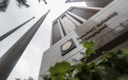 The Monetary Authority of Singapore announced that it issued a lifetime prohibition order against former BSI Bank wealth manager, Yeo Jiawei and a three-year ban for NRA Capital founder Kevin Scully. Photo: EPA