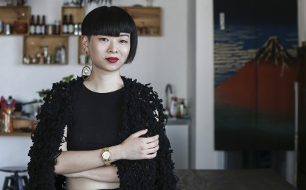 Thierry Chow, a feng shui practitioner, at her home in Chai Wan. Photo: SCMP / Jonathan Wong