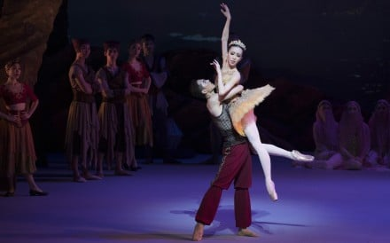 Wei Wei and Chen Zhiyao perform during Hong Kong Ballet's popular production of Le Corsaire. Photo: Conrad Dy-Liacco