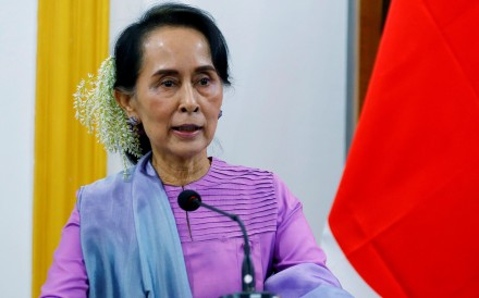 Myanmar's leader Aung San Suu Kyi. Photo: Reuters