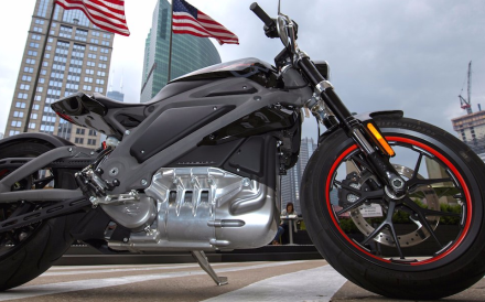 Harley rolled out an electric concept bike four years ago, but didn't follow it up with a production two-wheeler