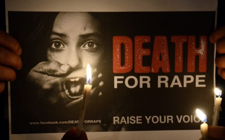 Violent crime against women has been on the rise in India despite tough laws enacted by the government. File photo: EPA