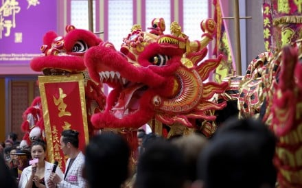 Once there was a lion dance troupe in every walled village in what became Hong Kong's New Territories, and more than 100 still perform their dazzling routines; but as teens swap sport for studying, recruiting dancers gets harder