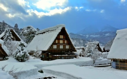 From a World Heritage-listed alpine town a few hours from Osaka, to Nagano's Olympic ski slopes, to picturesque northern Hokkaido, a winter getaway will reward visitors keen for white landscapes before spring does its thing