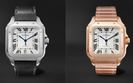 Watches from the Santos de Cartier collection