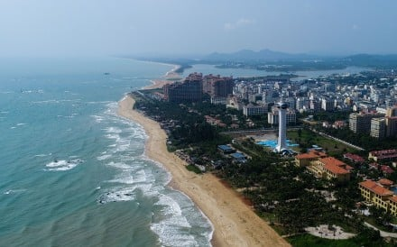 The coastal town of Boao in south China's Hainan Province. Hainan hopes to benefit from a new plan to increase its attraction to foreign tourists. Photo: Xinhua/Yang Guanyu