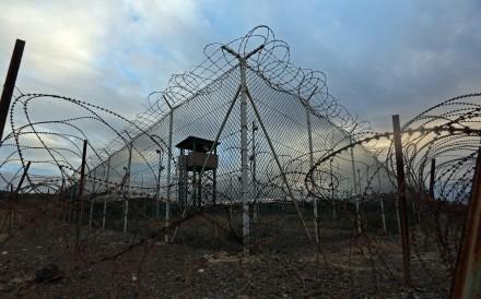 Guantanamo Bay's Detention Centre Zone. Photo: TNS