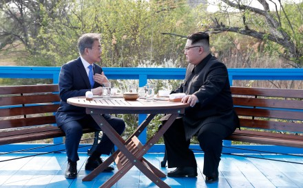 The US president may indeed deserve praise for the current optimism on the Korean peninsula – but it is not because of the 'fire and fury' threats or the taunting of Kim Jong-un. It's the sanctions, stupid