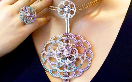 Coronet By Reena Ahluwalia Soul Carousel spinning jewellery collection necklace and ring