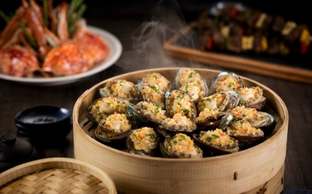 One of the tastiest dishes now being served at Festiva and The Noodle Kitchen at Galaxy Macau is steamed Dalian wild abalones.