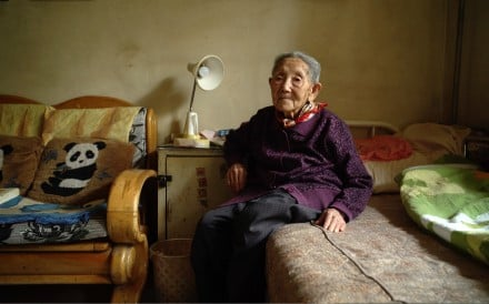 "Gao Guifang is the widow of one of the survivors of the Jiabiangou ""re-education"" camp interviewed by Wang Bing for his documentary Dead Souls."