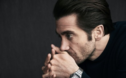 Jake Gyllenhaal stars in the maison's Santos de Cartier campaign movie.