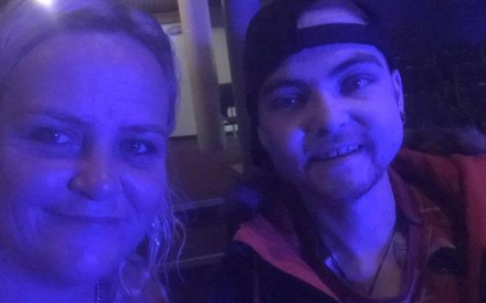 Debbie Hotene, left, with her son Rikki. She is devastated by his death and angry with P&O Cruises. Photo: Supplied