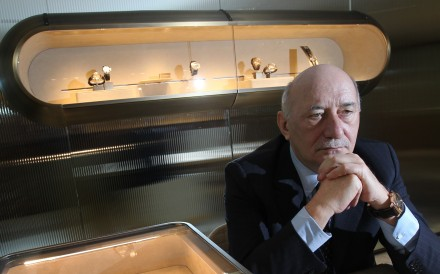 Angelo Bonati has been the one and only CEO Panerai has ever had.