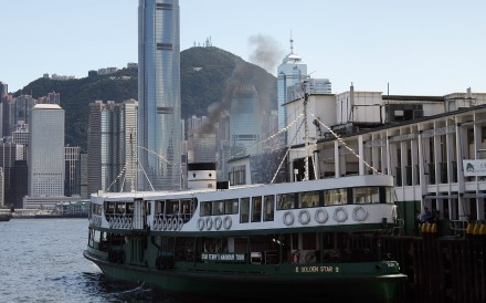 The Star Ferry has weathered numerous storms throughout Hong Kong's history. Photo: Felix Wong