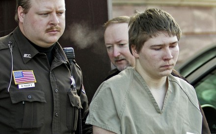 Brendan Dassey is escorted out of a courthouse in Manitowoc, Wisconsinm in 2006. His bid for a new hearing of his case was denied by the US Supreme Court on Monday. Photo: AP