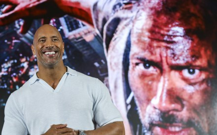 Towering ex-wrestler Dwayne Johnson calls time he spent with amputees preparing to film thriller 'unforgettable'; co-star Chin Han talks up the attention producers paid to detail to ensure film's authentic Hong Kong look
