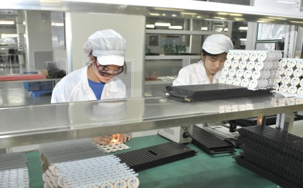 China's hi-tech sector is being hit by the US tariffs. Photo: Xinhua