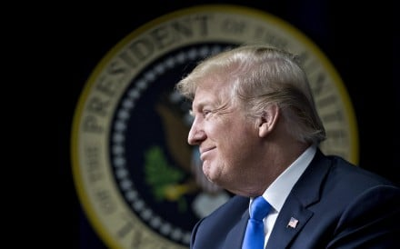 President Donald Trump made his policy intentions clear in his 2016 election campaign. It seems the left hates that he is implementing his stated policies. Photo: Bloomberg
