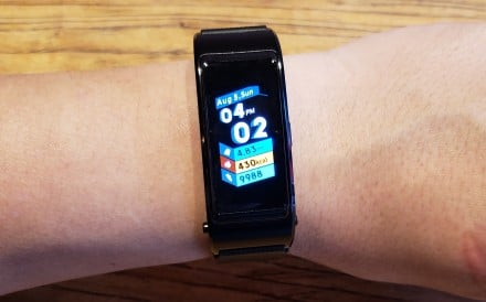 Its look and features are similar to the Fitbit Charge 2, but colour display is a step up. Activity tracking is accurate, but workout monitoring is not automatic. And while it doubles as a Bluetooth headset for calls, who needs that any more?