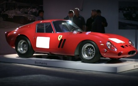 A Ferrari 250 GTO Berlinetta – one of 36 built in between 1961 and 1964 – is likely to be among the classic cars on show at the prestigious Pebble Beach Concours d'Elegance on August 26.