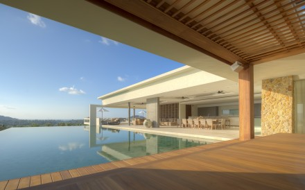 Samujana offers 27 magnificently designed three-to-eight-bedroom villas with open sea views on Koh Samui.