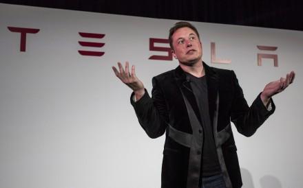 Tesla CEO Elon Musk in 2015. Photo: David Paul Morris/Bloomberg