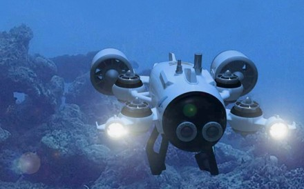An underwater drone manufactured by Tianjin Sublue Ocean Science and Technology. Photo: Sublue