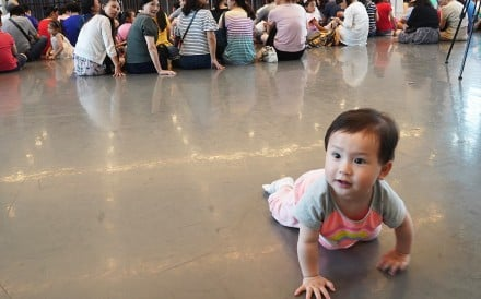The three-decade long restrictions on family size could soon be coming to an end. Photo: Xinhua