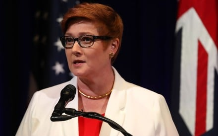 Marise Payne, Australia's new foreign minister. Photo: AFP