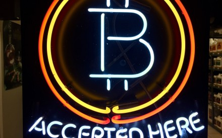 Cryptocurrency trading remains active in China despite a ban on domestic exchanges, thanks to offshore operators. Photo: AP