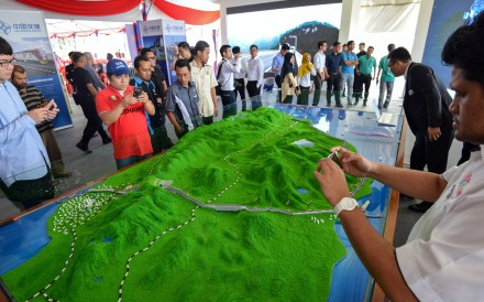 "The East Coast Rail Link in Malaysia is among the projects suspended after the election of Prime Minister Mahathir Mohamad in May due to concerns their benefits would be ""lopsided"" in China's favour. Photo: Xinhua"