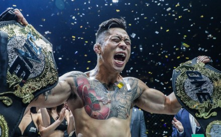 Martin Nguyen is a dual lightweight and featherweight champion. Photo: ONE Championship