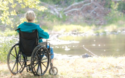 Age brings physical and sometimes mental frailty and a time will come when we have to let go. Photo: Alamy