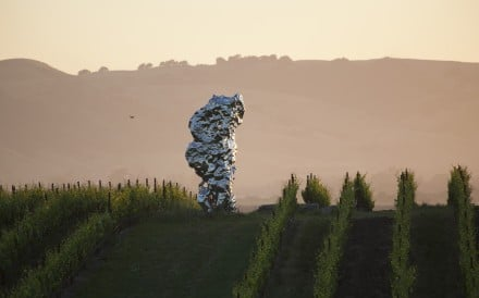 Pieces by Ai Weiwei, Yue Minjun and Zhan Wang stand out among the works on the Donum wine estate, where Allan Warburg has mixed his two loves – wine and art – with spectacular results